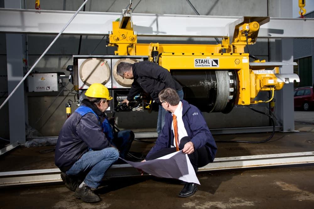 Выезд специалиста на объект для осмотра, монтажа, ремонта грузоподъемного оборудования