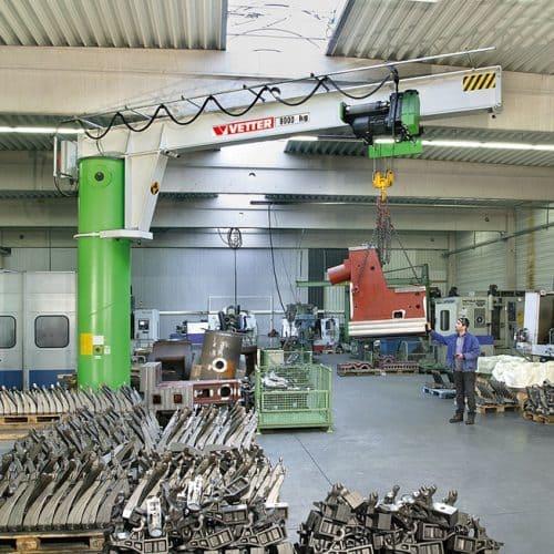 Консольный поворотный кран на колонне VETTER MEISTER М - фото 6
