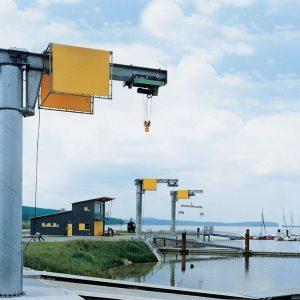 Консольный поворотный кран на колонне VETTER MEISTER М - миниатюра фото 3