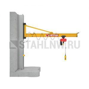 Консольный поворотный кран настенный VETTER PRAKTIKUS PW