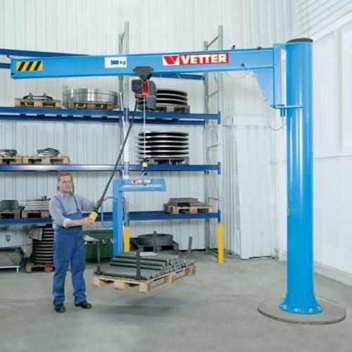 Консольный поворотный кран на колонне VETTER ASSISTENT АS - фото 2