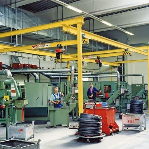 Однобалочный подвесной кран VETTER P400 - фото 2