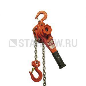 Таль ручная шестеренчатая стационарная HADEF 53/07, 0,8-9т