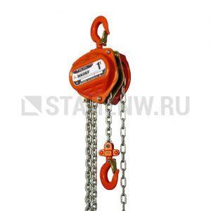 Таль ручная шестеренчатая стационарная HADEF 8/12 10т