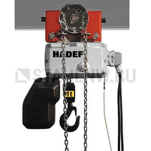Таль цепная электрическая HADEF 62/05 H - фото 1
