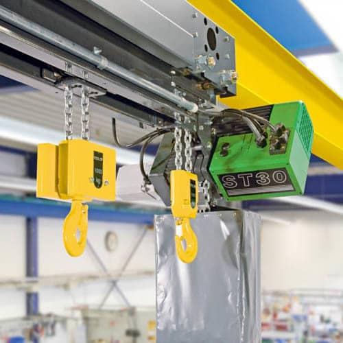 Таль цепная электрическая STAHL STD сдвоенная - фото 1